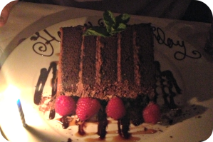 Mastros Chocolate Cake